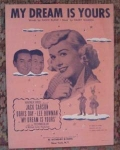 Doris Day Sheet Music, My Dream Is Yours