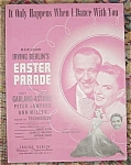 Fred Astaire Judy Garland Sheet Music Parade