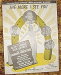 Diamond Horseshoe Sheet Music, Betty Grable