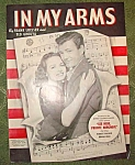 In My Arms Sheet Music, Private Hargrove