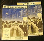2 My Gal Sal Sheet Music Pcs. Rita Hayworth