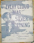 Every Cloud Has A Silver Lining Sheet Music