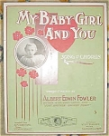 My Baby Girl And You Sheet Music - A Fowler