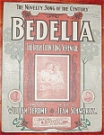 Bedelia Sheet Music, Irish Coon Song Serenade