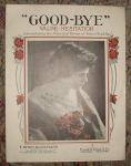 Pretty Lady Sheet Music, Good-bye Valse