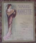 Valse Annette, Pretty Lady Sheet Music