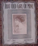 Lena Daley Sheet Music, That Old Girl Of Mine