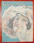 Rolf Armstrong Sheet Music - Girl Of Mine