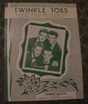 The Crew Cuts Sheet Music, Twinkle Toes