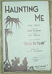 Big Band Sheet Music Stock Set, Haunting Me