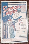 Big Band Sheet Music Stock Set Serenade Night