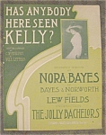 Nora Bayes, The Jolly Bachelors Sheet Music