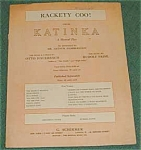 Hammerstein Tune, Rackety Coo , Sheet Music