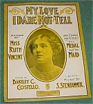 Fisher & Riley Show Tune, Sheet Music
