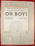 Bolton, Wodenhouse Sheet Music, Oh Boy