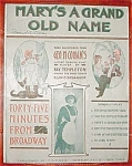Cohan Sheet Music Forty-five Mins Broadway