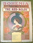 Bohemia Sheet Music From The Red Rose