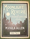 Moonlight Reverie Sheet Music By Viola Allen