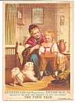 Trade Card, Dr. Radcliffe's Great Remedy