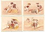 4 Pc Set Trade Cards Children - Ketterlinus