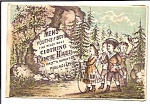 Children Victorian Trade Card, Clothing