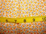 1930's Cotton Calico Quilt Fabric, Vintage