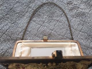 1940s Austrian Petit point evening purse