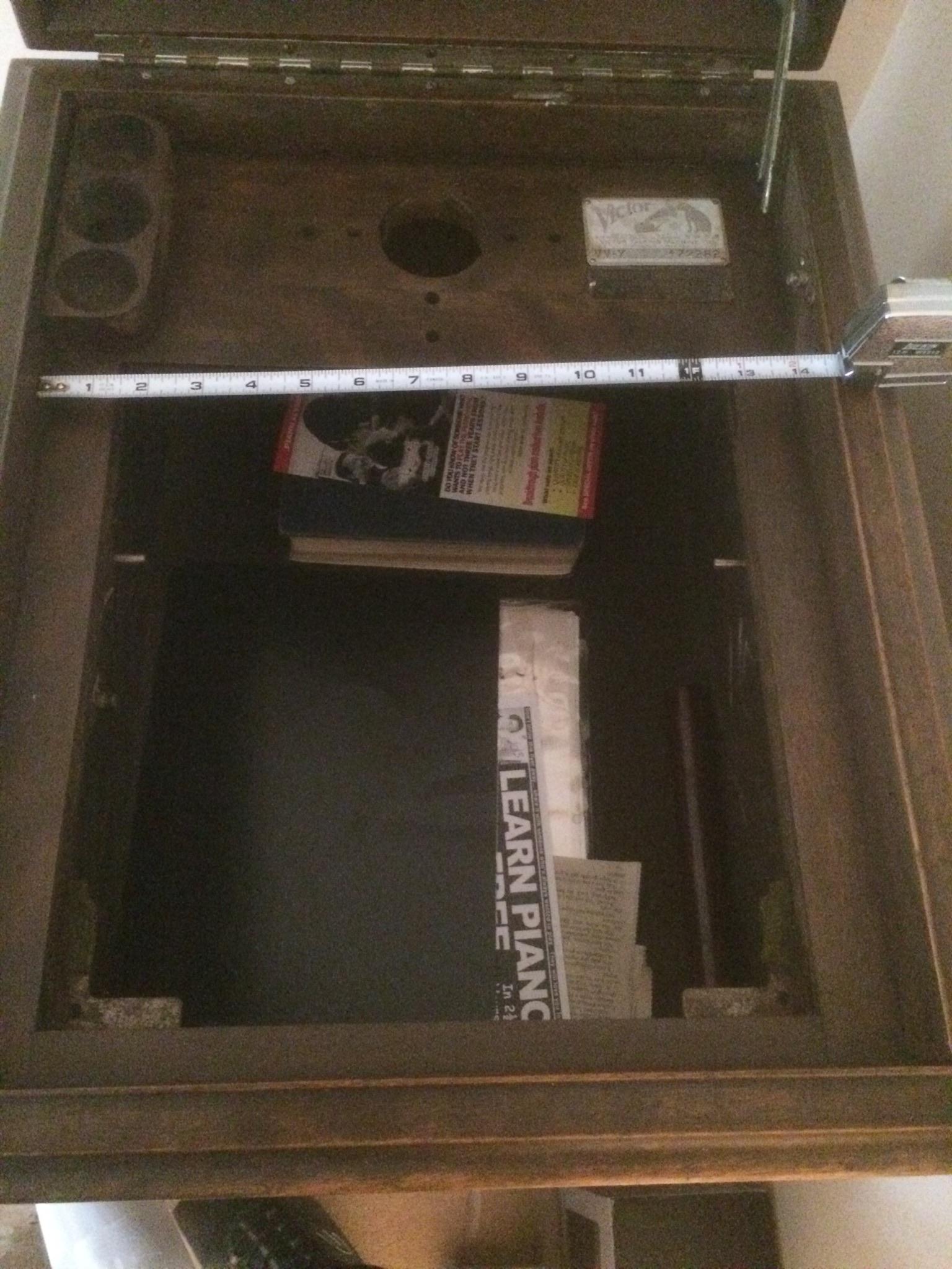 Old Victrola Cabinet