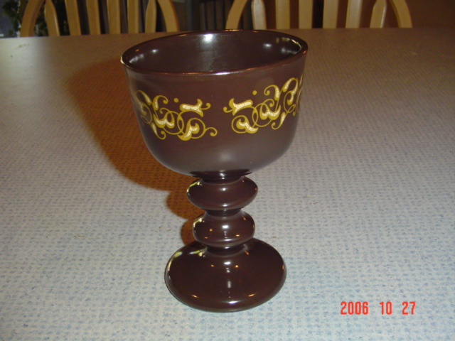 Franciscan Jamoca Water Goblets Reduced 40%