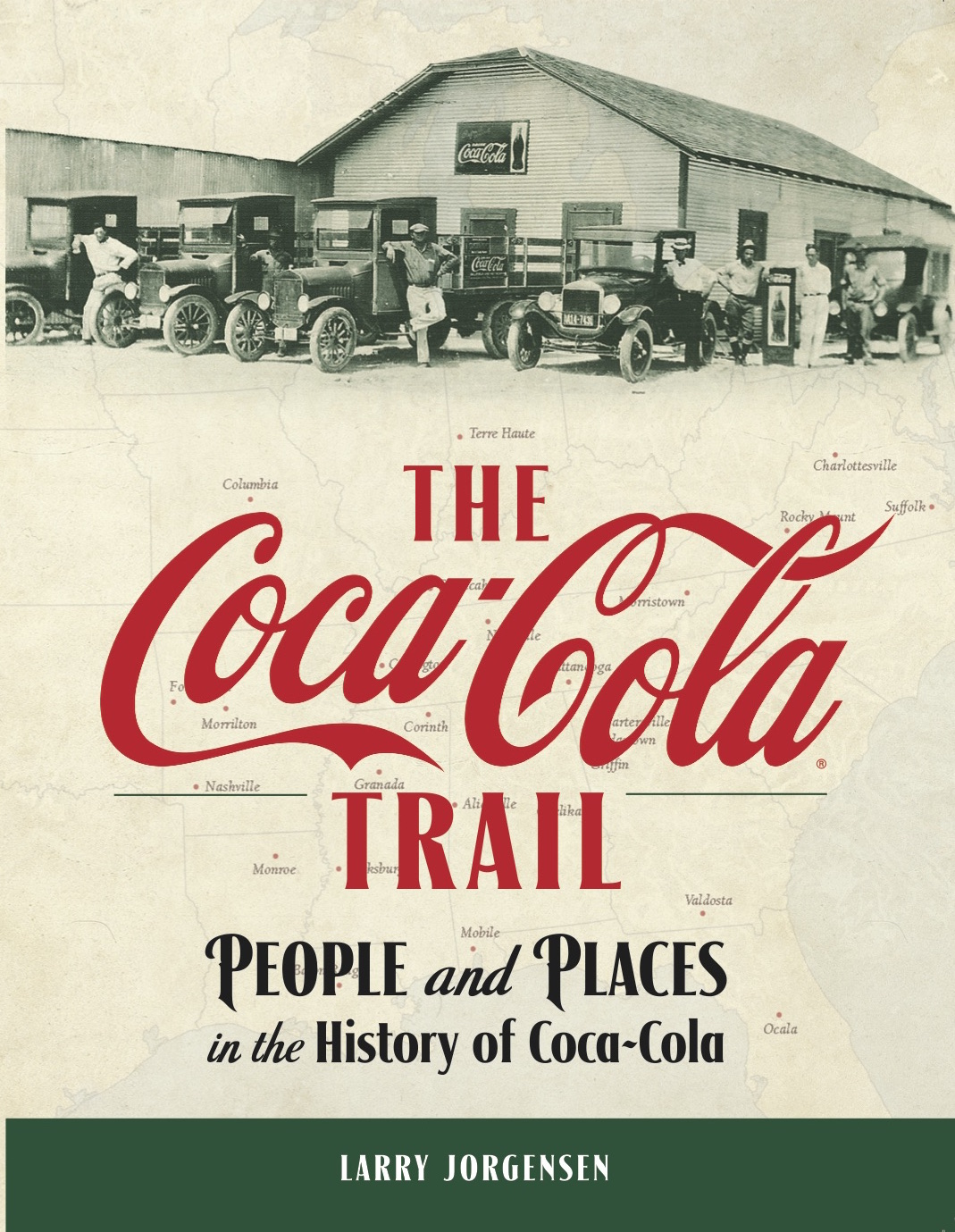 """The Coca-Cola Trail"" book"