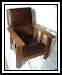 Morris Chair Oak Vintage Mission Arts and Crafts Hemco