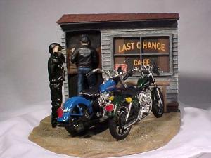 Harley Davidson Last Chance Cafe by Ertl (Image1)