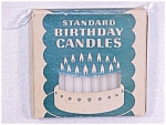 Click here to enlarge image and see more about item 60: Standard Oil Birthday Candles MIB