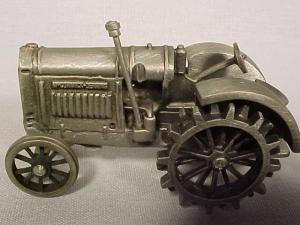 Pewter Mccormick-deering Tractor By Spec Cast