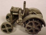 Click here to enlarge image and see more about item 2JD10: Pewter Case Tractor by Spec Cast