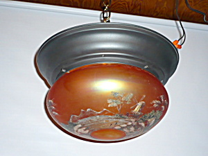 ANTIQUE SCENIC LIGHT FIXTURE (Image1)