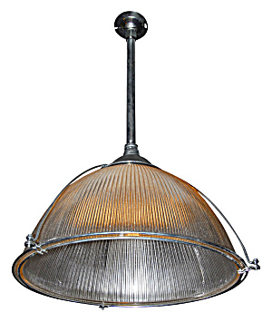 VINTAGE LARGE VINTAGE HALOPHANE LIGHT (Image1)