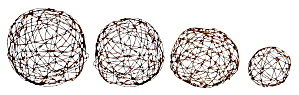 BARBED WIRE SPHERES (Image1)