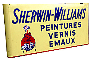 Vintage Sherwin Williams Paint Sign
