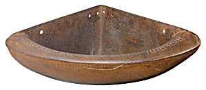 VINTAGE CAST IRON FEEDER TROUGH (Image1)