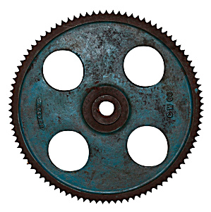 Industrial Iron Antique Gear Wheel