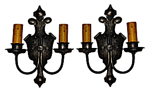 Vintage electric wall lights (Image1)