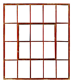Warehouse Iron Window Frame