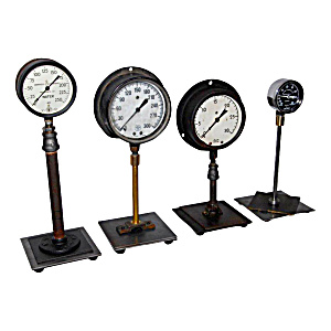 Industrial Vintage Gauge Collection