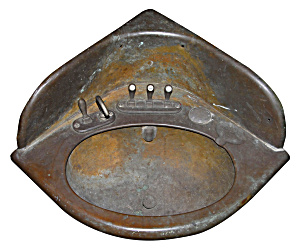 Copper Train Sink