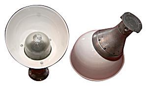 VINTAGE INDUSTRIAL ANTIQUE LIGHT LARGE (Image1)