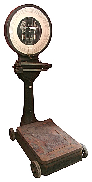 Industrial Antique Toledo Weight Scale