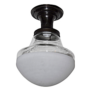 Vintage Style Semi Clear Kitchen Light