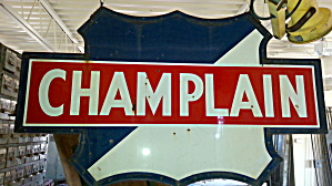 Champlain Gas Station Sign