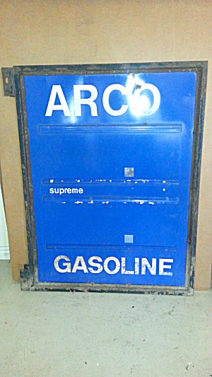 Arco Gas Station Sign
